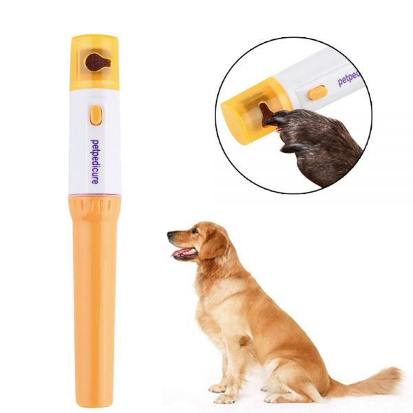 Electric-Painless-Pet-Nail-Clipper
