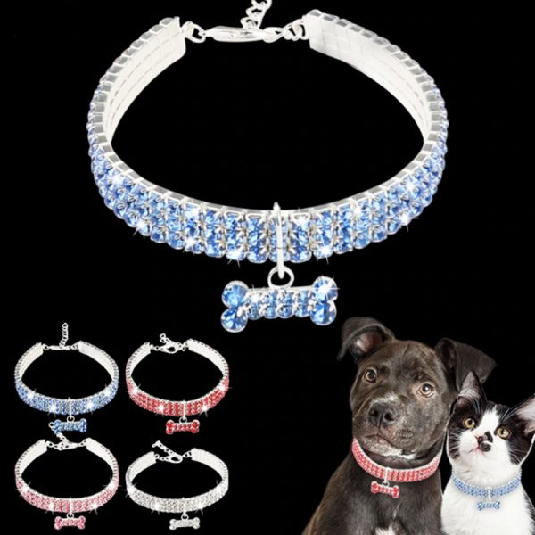 Bling Rhinstone Collar