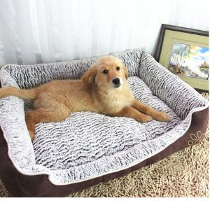 Plush-Dog-Bed 2