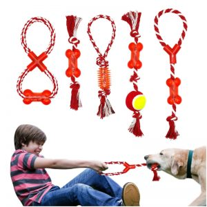 Rope-Chew-Toy-Red 3