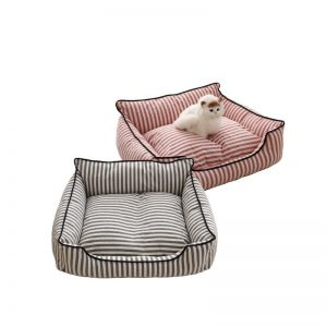Striped Pet Bed